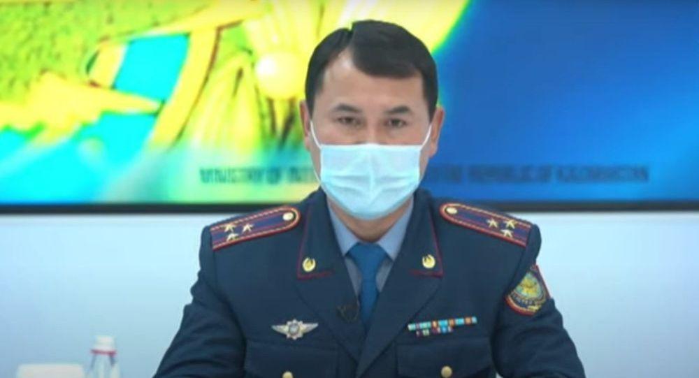 Начальник управления департамента по противодействию наркопреступности МВД Казахстана Бахытжан Амирханов. Архивное фото