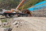Бишкек — Ош жолунун 246-чакырымында кар көчкүдөн коргой турган тоннель салынууда