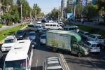 Бишкектеги Абдрахманов көчөсүндө ири автоунаа тыгыны