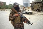 Талибан согушкери Кабулда. Архивдик сүрөт