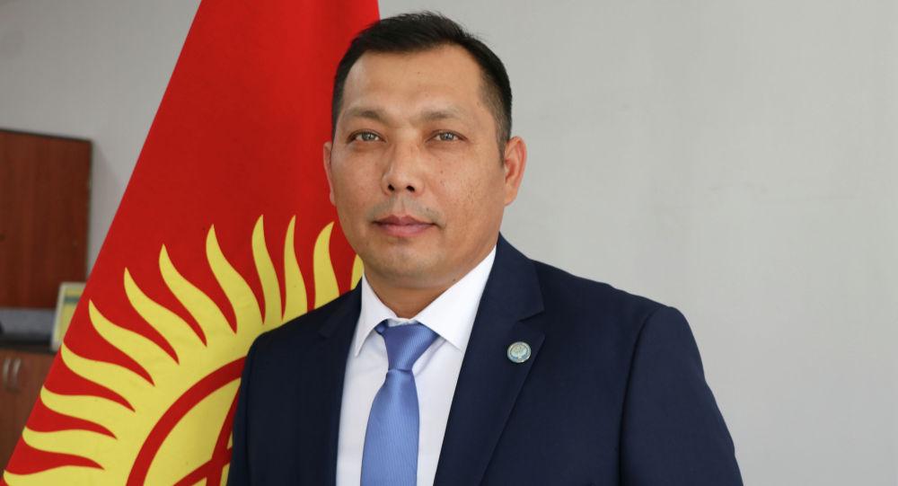 Аким Ленинского района Бишкека Русланбек Тагаев