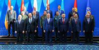 Совместное заседание министров иностранных дел, министров обороны и секретарей совбезов ОДКБ в Душанбе