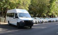 Россиянын Ички иштер министрлиги кыргызстандык кесиптештерине 17 транспорт каражатын берди.