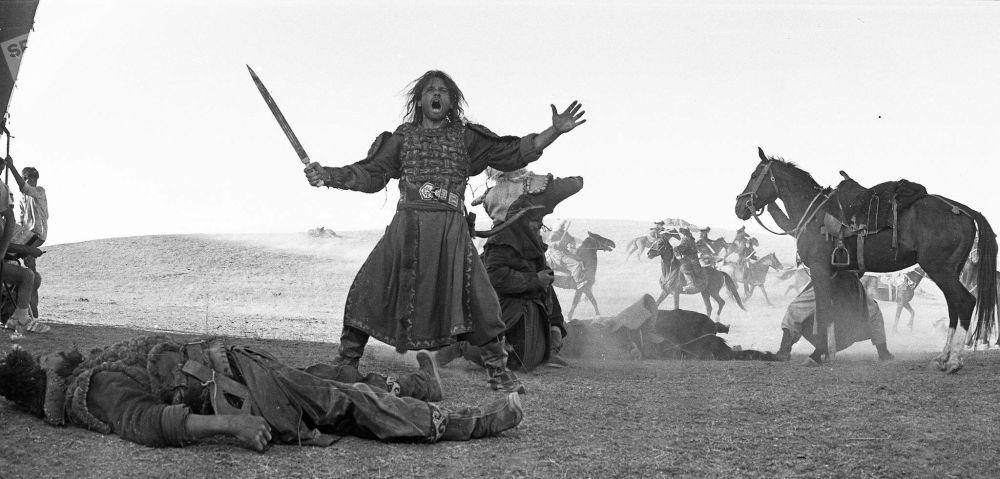 Башкы каарман Чыңгыз хандын ролун аткарган Ричард Тайсон