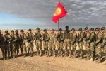 Кыргызстан Куралдуу күчтөрүнөн Скорпион атайын багыттагы бөлүгүнүн аскерлери Тынчтык миссиясы — 2021 машыгуусунда