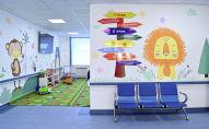 Новый корпус отделении детской онкологии и онкогематологии, построенный на территории Национального центра охраны материнства и детства (НЦОМиД) в Бишкеке