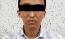 Мужчина, который подозревается в мошенничестве в Аламудунском районе