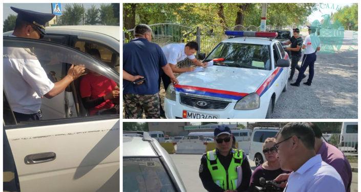 ГНС совместно с сотрудниками ГУОБДД МВД КР проводят рейды по выявлению водителей, не уплативших налог на автотранспорт. 20 сентября 2021 года