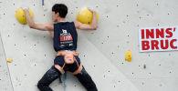 Түштүк кореялык аскага чыгуучу Мин Ян Ли Москва шаарында өткөн аскага чыгуу боюнча дүйнө чемпионатында