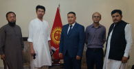 Элчи Тотуяев этникалык кыргыздар менен жолугушуусу