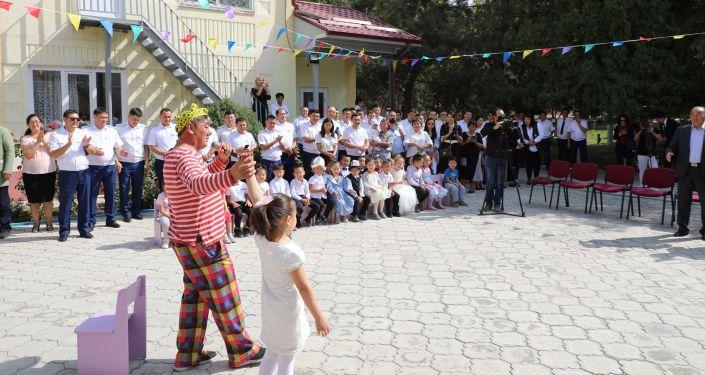 Торжественное мероприятии, посвященное 23 сентября Дню государственного языка в ведомственном детском саду Наристе