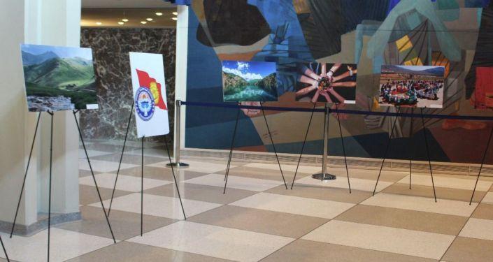 Фотовыставка, посвященная 30-летию Независимости КР в рамках участия в мероприятиях Недели высокого уровня 76-й сессии Генеральной Ассамблеи ООН