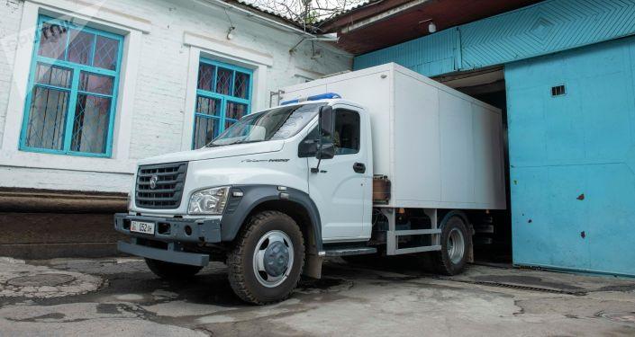 Автомобиль для перевозки осужденных на территории Департамента охраны исправительных учреждений и конвоирования ГСИН