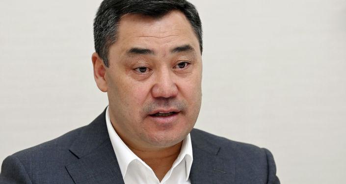 Президент Садыр Жапаров встретился с председателем Сената Олий Мажлиса Узбекистана, прибывшей в страну с официальным визитом. 21 сентября 2021 года