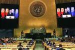 Выступление президента Садыра Жапарова на 76-й сессии Генеральной Ассамблеи ООН