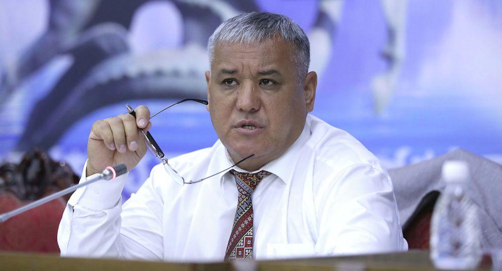 Депутат Кубанычбек Нурматов. Архивное фото