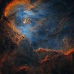 Работа Облака в IC 2944 румынского фотографа Богдана Борза заняла второе место в категории Звезды и туманности