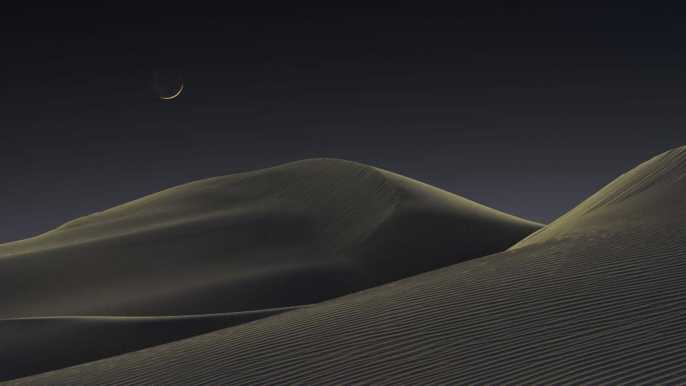 Снимок Лунные дюны американского фотографа Джеффри Лавлейса победил в категории Небесный пейзаж