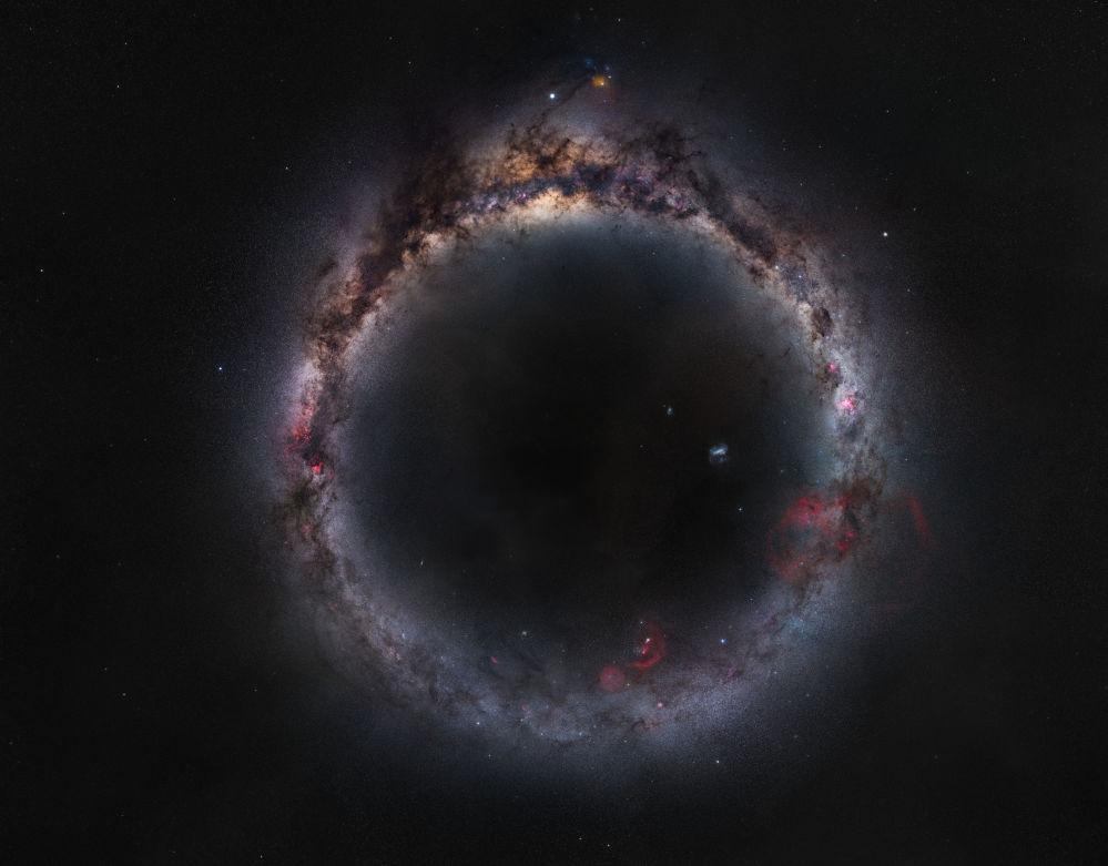 Фото Млечное кольцо китайца Чжуна Ву признали лучшим в категории Галактики