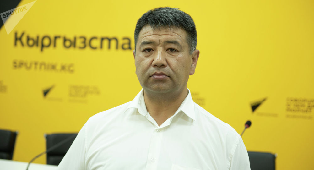 Председатель Государственной таможенной службы при Министерстве экономики и финансов КР Самат Исабеков