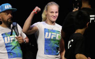 Чемпионка мира UFC Валентина Шевченко. Архивное фото