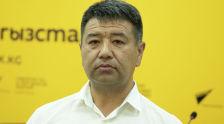 Председатель Государственной таможенной службы при Министерстве экономики и финансов КР Самат Исабеков на радио Sputnik Кыргызстан