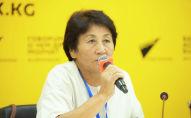 Главный координатор фестиваля эпосов мира, заведующая отделом международных связей Национальной академии Манаса и Чингиза Айтматова Дамира Алышбаева