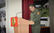 Первый заместитель Государственной службы исполнения наказаний при Минюсте Таалайбек Нуралиев. Архивное фото