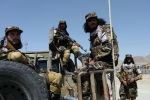 Талибан кыймылынын согушкерлери. Архивдик сүрөт