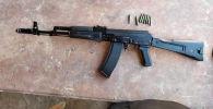 Оружие ИЖ-161 ПС которым 20-летний парень стрелял во время тоя в воздух в Узгенском районе