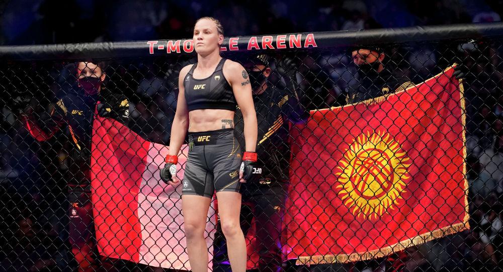 Кыргызстандык UFC уюмунун жеңил салмактагы чемпиону Валентина Шевченко