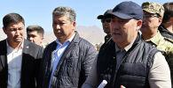 Кыргызстандын президенти Садыр Жапаров Ош облусунда иш сапары алкагында эл менен жолугушуу учурунда