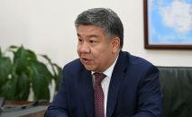Министр инвестиций КР Алмамбет Шыкмаматов