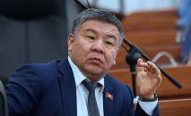 Бывший министра инвестиций КР Алмамбет Шыкмаматов. Архивное фото