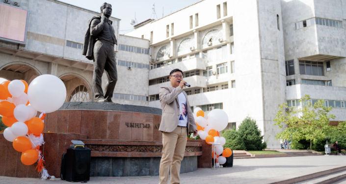 "Президент фонда ""Эсте"" Айбек Кыштобаев"