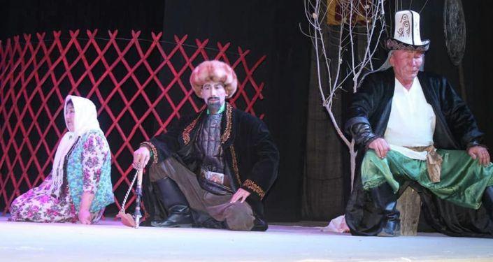 Первый республиканский фестиваль горных театров, посвященный 220-летию Алымбека Датки, 210-летию Курманжан Датки и 75-летию Алайского музыкально-драматического театра в Алайском районе