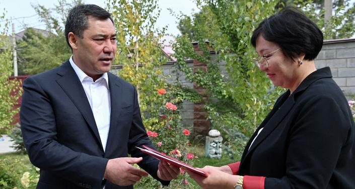 Семья президента Кыргызстана Садыра Жапарова передала на баланс ОАО Государственная ипотечная компания на безвозмездной основе жилой дом, в котором ранее проживал сам глава государства
