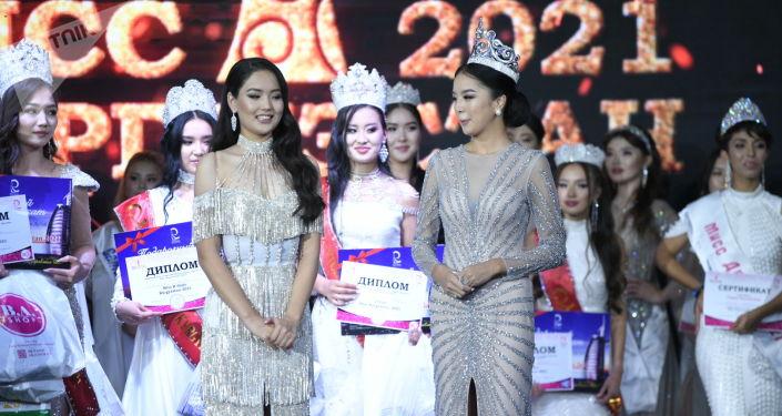 Алтынай Ботоярова, ставшая победительницей национального конкурса красоты Мисс Кыргызстан — 2021