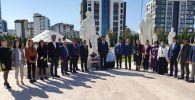 Состоялось торжественное открытие памятника первому Председателю Совета народных комиссаров Киргизской АССР Жусупу Абдрахманову. 1 октября 2021 года