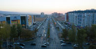 Бишкек шаарындагы Масалиев көчөсү. Архивдик сүрөт