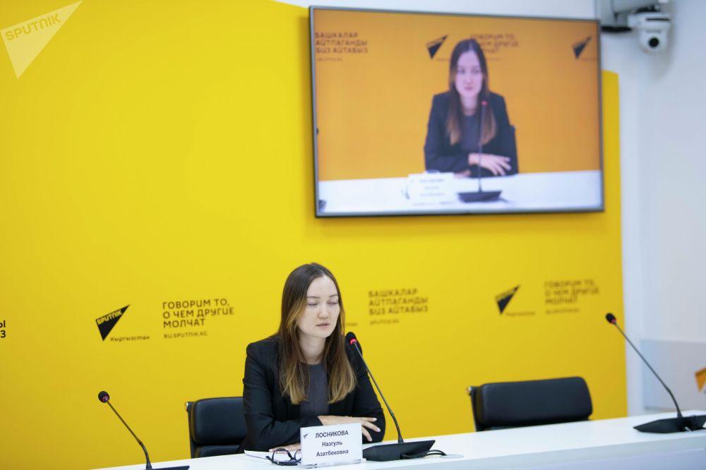 17 сентября 30-летнюю Назгуль Лосникову назначили руководителем Управления образования мэрии Бишкека
