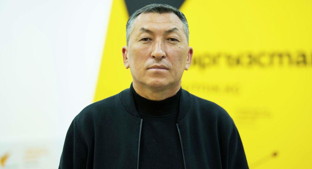 Директор ГП Кыргыз комур Мирлан Жакыпов. Архивное фото