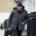 Борис Джонсон в бытность мэром Лондона возвращается домой