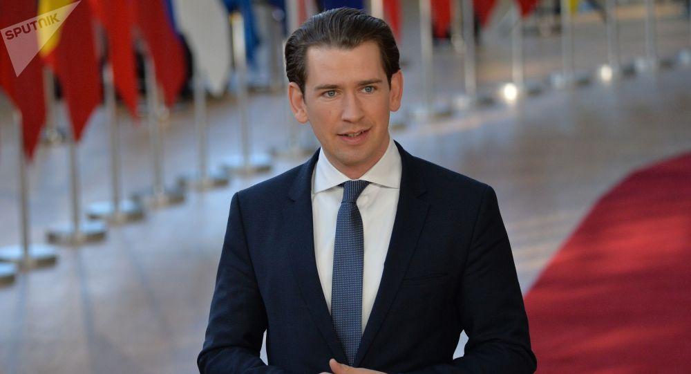 Канцлер Австрии Себастьян Курц. Архивное фото