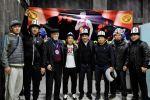 Кыргызстандын эркин жана грек-рим күрөшү боюнча дүйнө чемпионатына катышкан курама команда Бишкекке келди