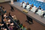 Участники на Втором Евразийском женском форуме в Санкт-Петербурге. Архивное фото
