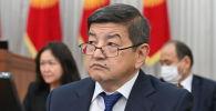 Министрлер кабинетинин төрагасы, президенттин администрация жетекчиси Акылбек Жапаров