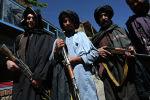 Панджшер провинциясында Талибан согушкерлери. Архив