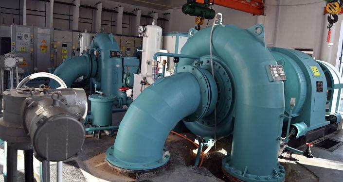 Запуск в эксплуатацию Сокулукской ГЭС-2 в Чуйской области. 14 октября 2021 года