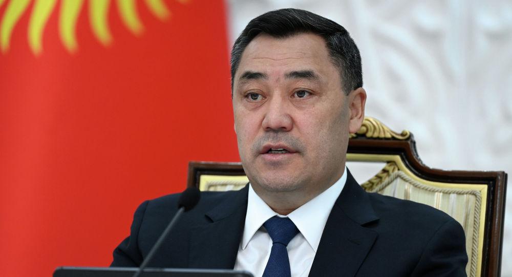 Кыргызстандын президенти Садыр Жапаров Жогорку Евразиялык экономикалык кеңештин (ЖЕЭК) кезектеги жыйыны учурунда